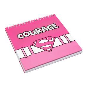 "Superwoman ""Courage"" Notebook"