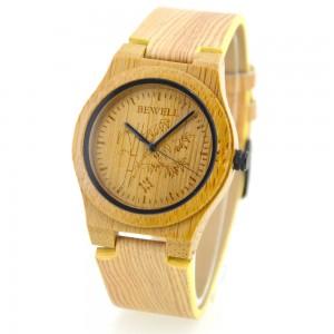 Ladies' Natural Wood Watch - Beige
