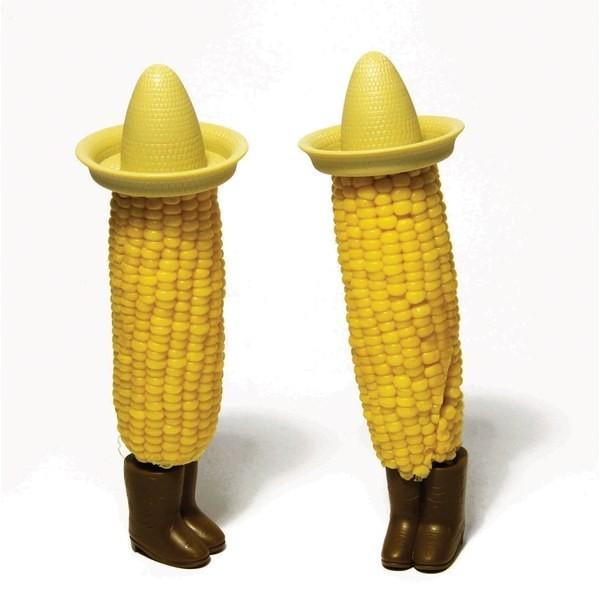 Set of 2 Mexi-Corn on the Cob Corn Skewers