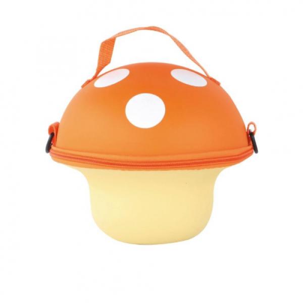Mushroom Handbag-Orange