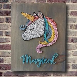 Handmade Unicorn Wall Art