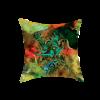 Arabic Calligraphy Cushion Cover - Green