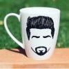 Gentleman Hand-Painted Mug