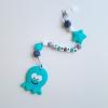 Octopus Teether - Blue