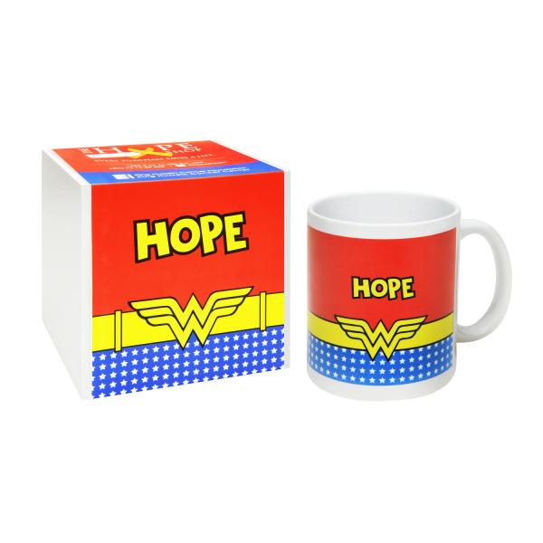 """Wonder Woman """"Hope"""" Mug"""