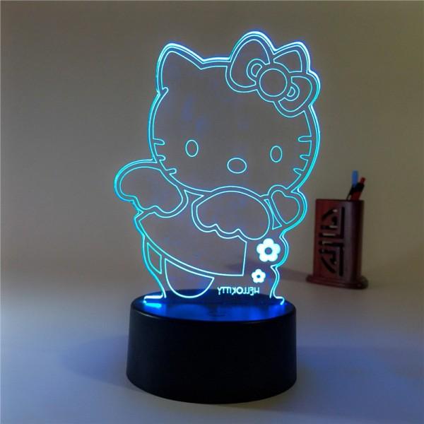 Hello Kitty 3D Light