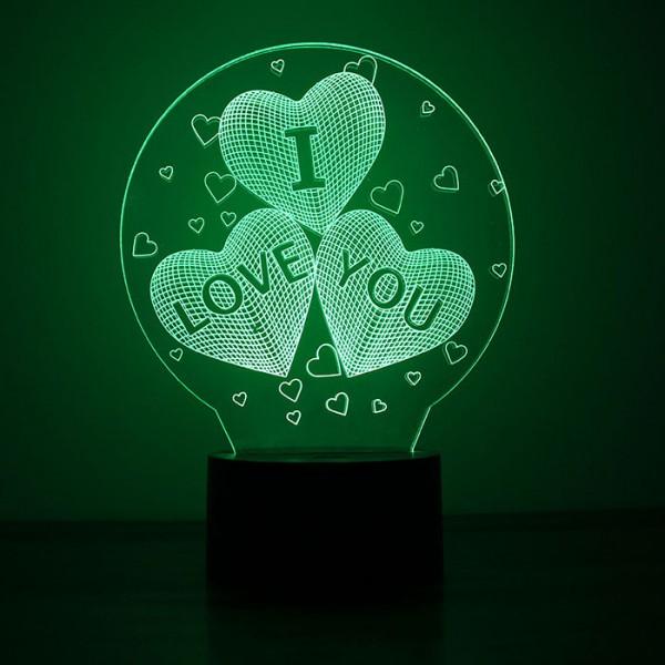 "3D ""I Love You"" Light"
