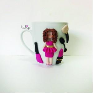 Makeup Girl Mug