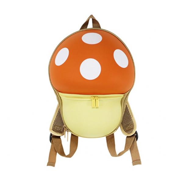 Mushroom Backbag for Kids-Orange