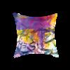 Arabic Calligraphy Cushion Cover - Purple & Yellow