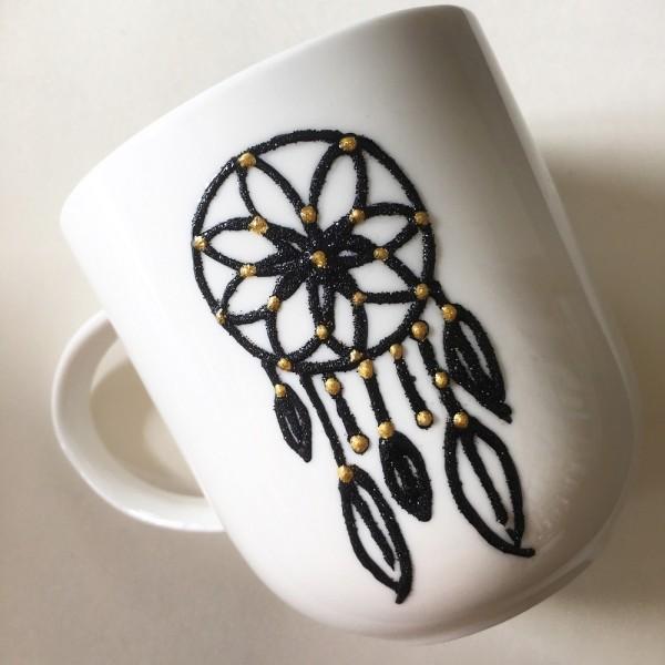 Dream Catcher Hand-Painted Mug