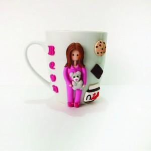 Girl in Pajamas Mug