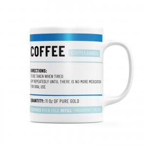 Daily Dose Mug - Blue