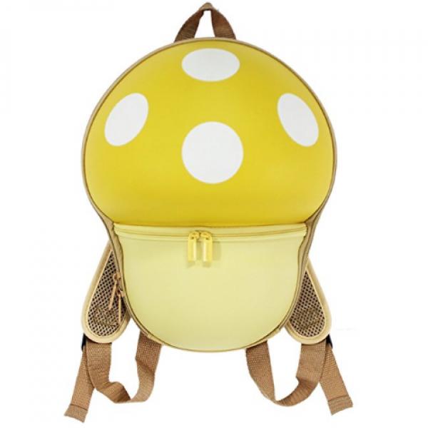 Mushroom Backbag for Kids-Yellow
