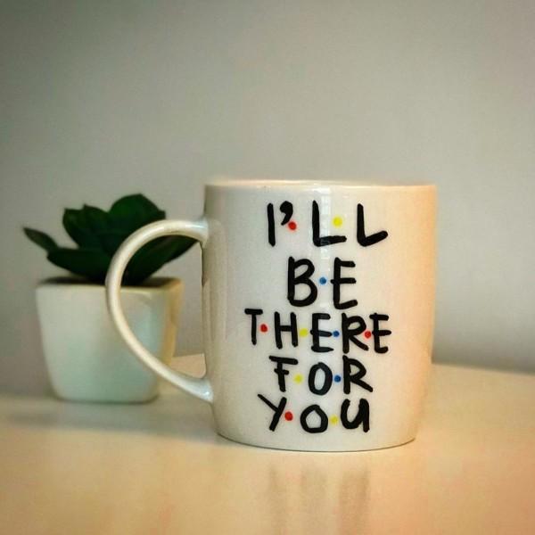 """""""For You"""" Hand-Painted Mug"""