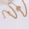 Crystal Crown Ring Bracelet