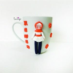Hijab Style Mug - Orange