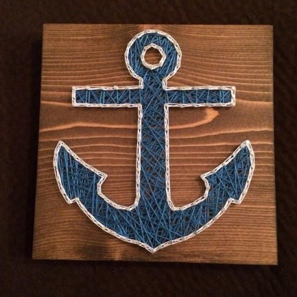 Handmade Anchor Wall Art