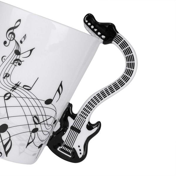 Guitar Mug - Black