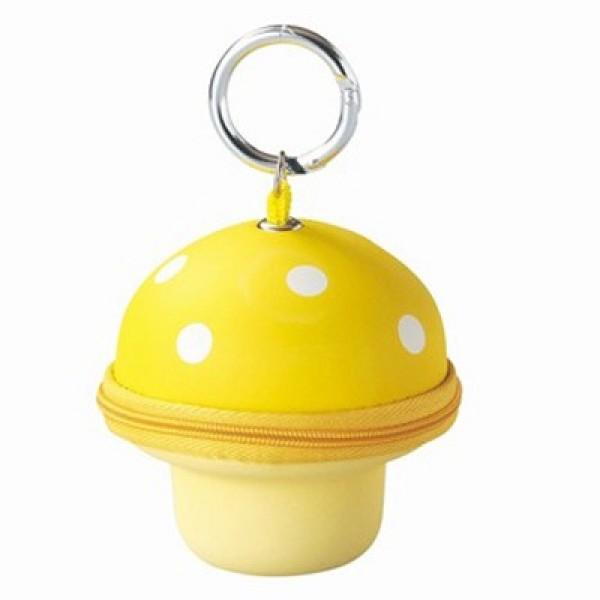 Mushroom Key & Wallet-Yellow