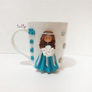 Bride Mug - Blue