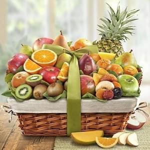 Delightful Orchard Fruit Gift Basket