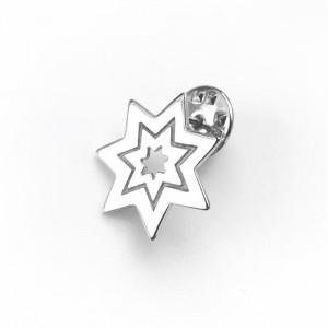 Silver Plated Star Brooch