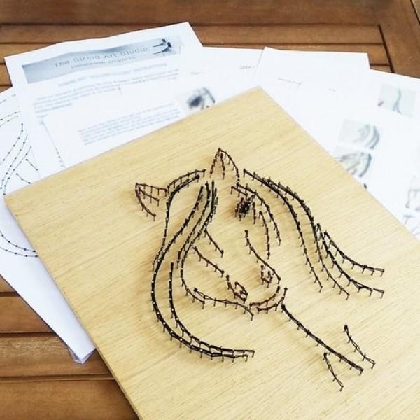Handmade Horse Wall Art