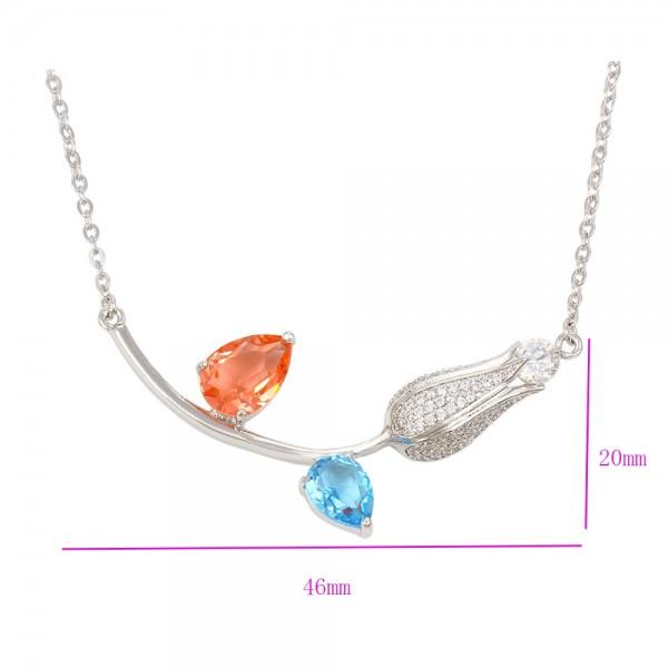 Spring Flower Necklace