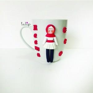 Hijab Style Mug - Red