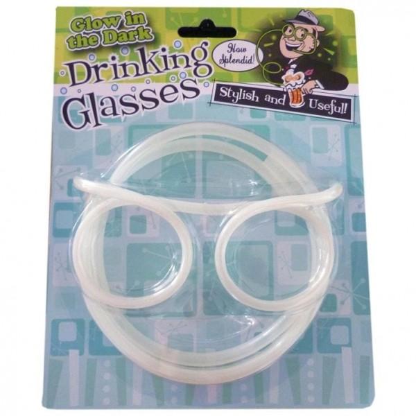 Glow in the Dark Drinking Straw Glasses