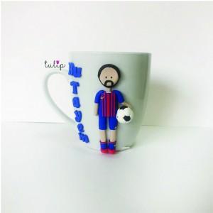 Footballer Mug