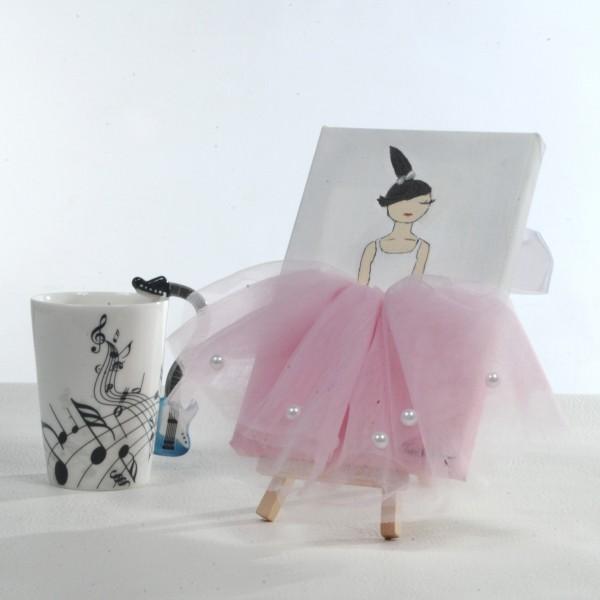 Ballerina Painting - Light Pink